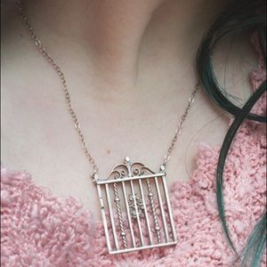 The Garden Gate Necklace - STERLING SILVER